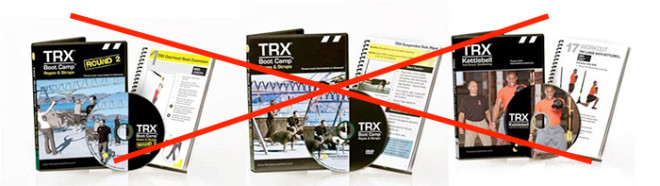TRX DVD video