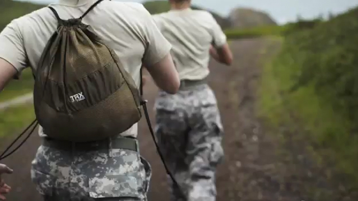 TRX army bag