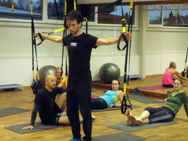 TRX cvičení