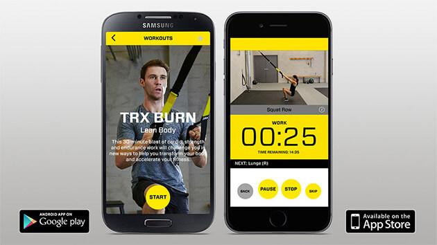TRX Mobilní aplikace