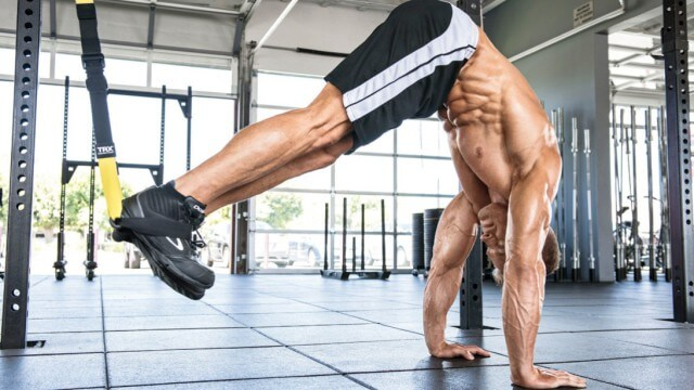 TRX popruhy na cvičení