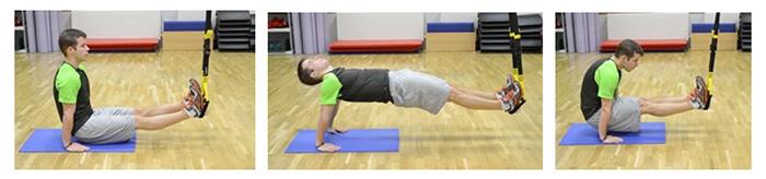 30 denní výzva plank cvik