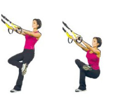 TRX Figure 4 Stretch