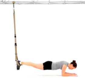 TRX Plank - cviky v podporu