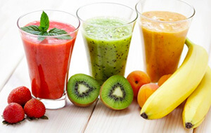 Nápoje a smoothie recepty na hubnutí