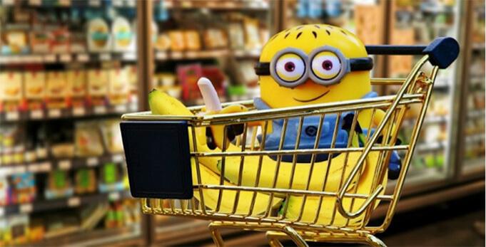 Nezdravé potraviny v obchodech