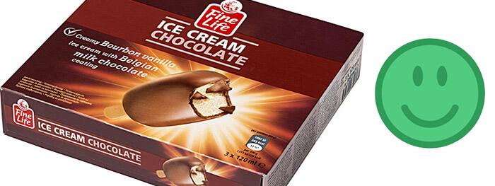 zdravá zmrzlina - recenze Fine Life Ice Cream Chocolate Creamy Bourbon Vanilla