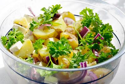 zeleninové saláty - recepty dietní