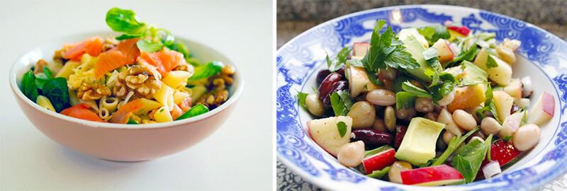nejlepší recepty na zeleninové saláty
