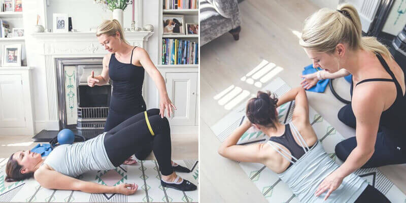 Pilates výsledky doma