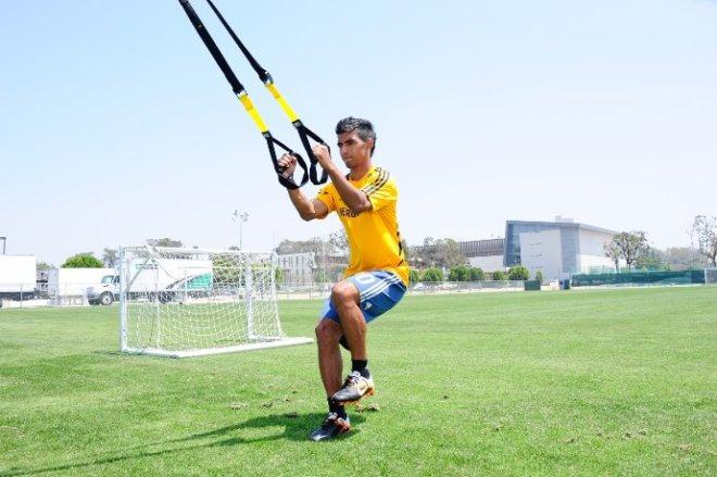 individuální fotbalový trenink