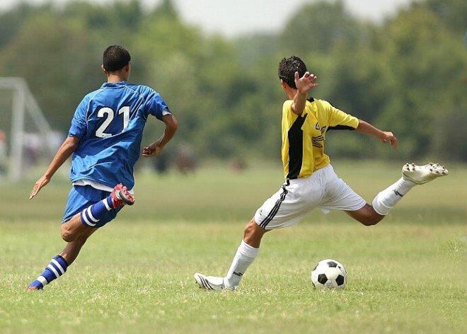 Fotbal a Herní trénink: Střelba