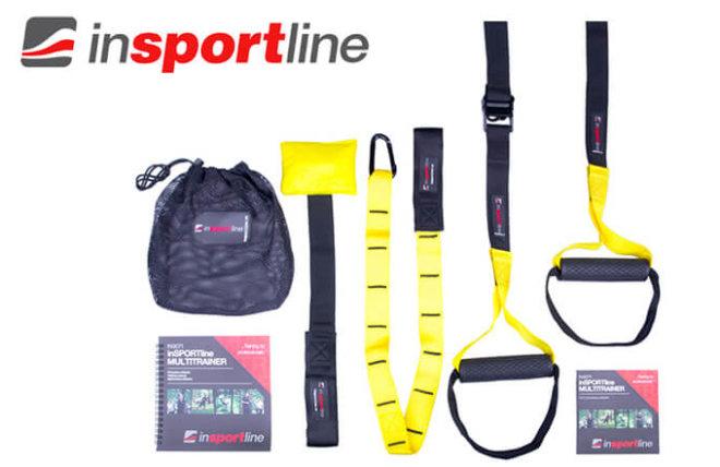 insportline - levné popruhy TRX na cvičení
