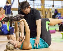 Fitness školení zrdavotní cvičení Praha